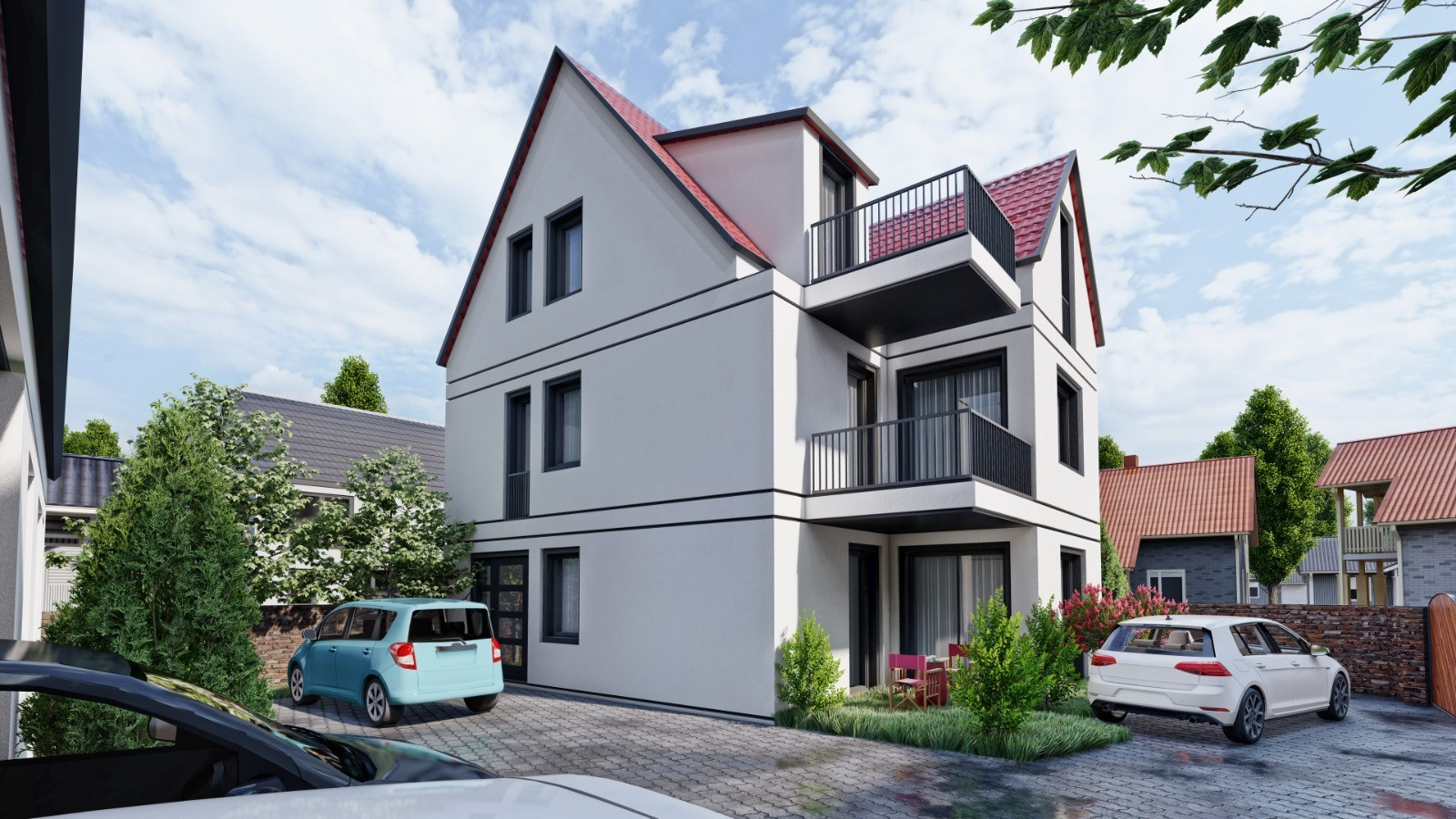 3 Familienhaus Marienstrasse