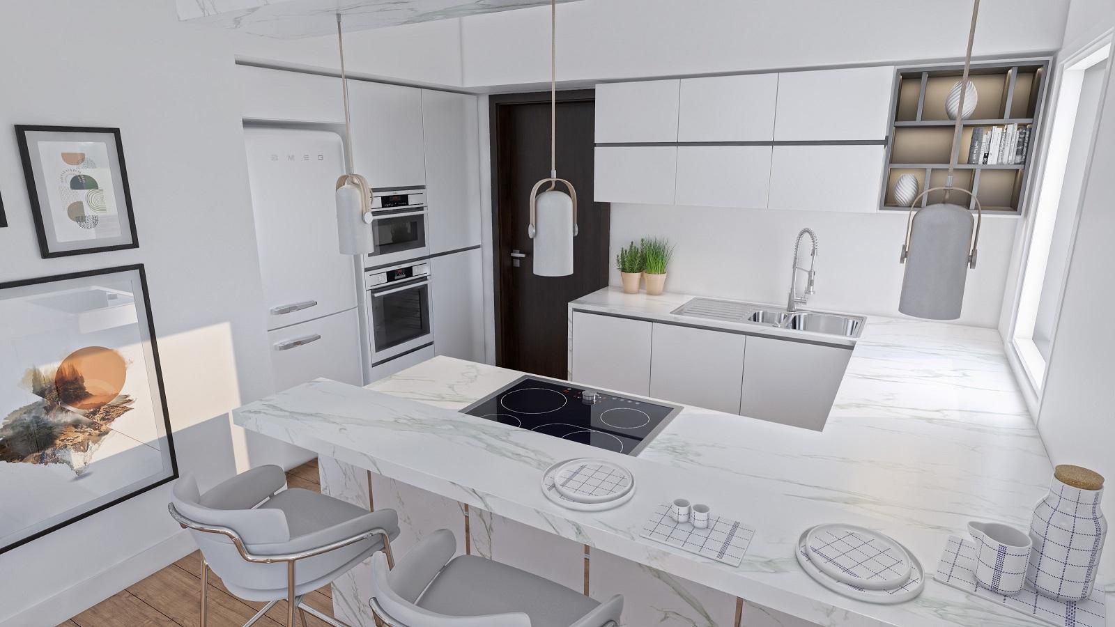 3D Küche