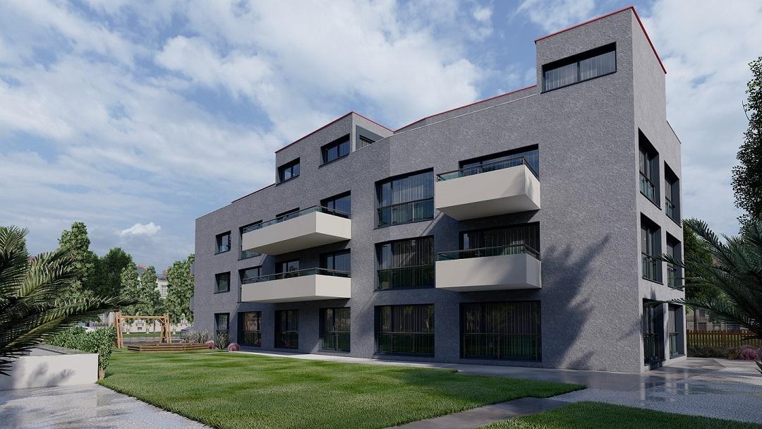 Architektur Visualisierung Neubau