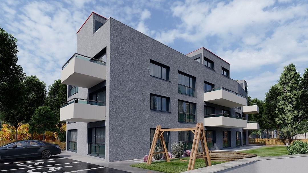 Bauprojekt Rendering Zürich