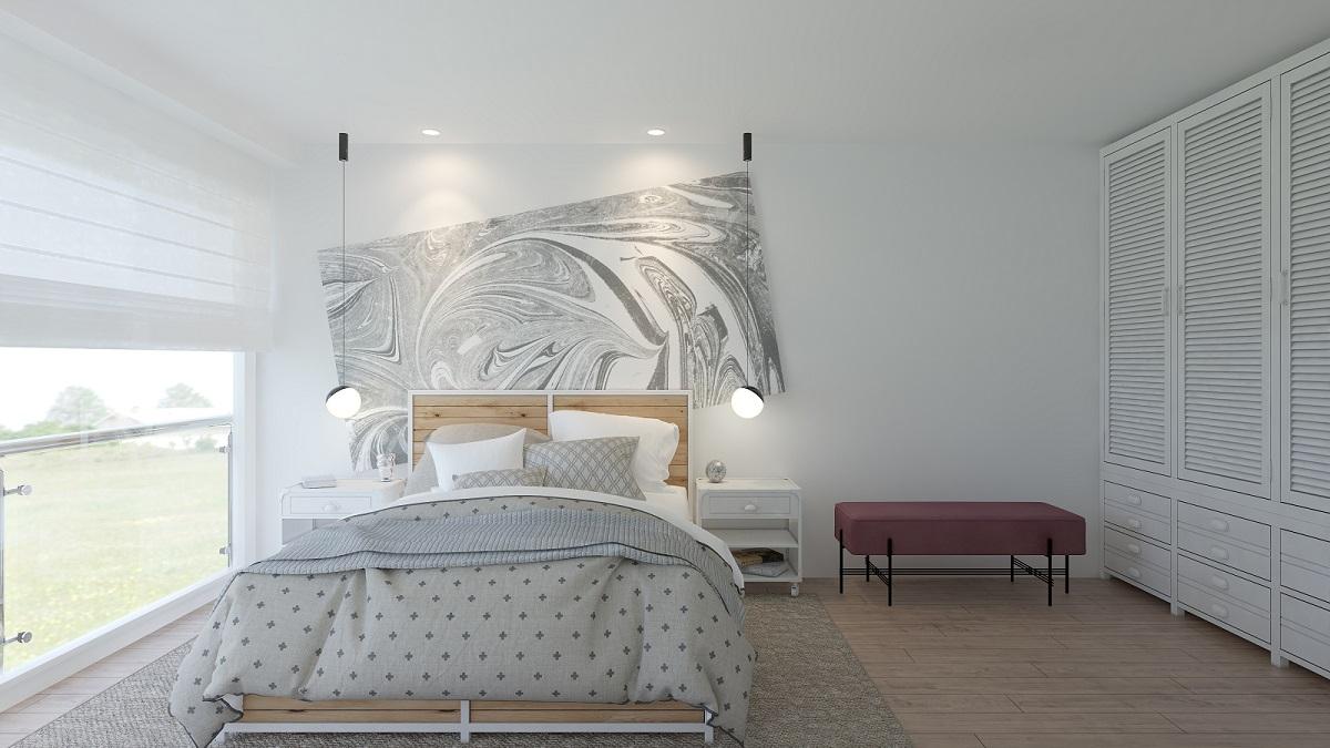Schlafzimmer Design 3D