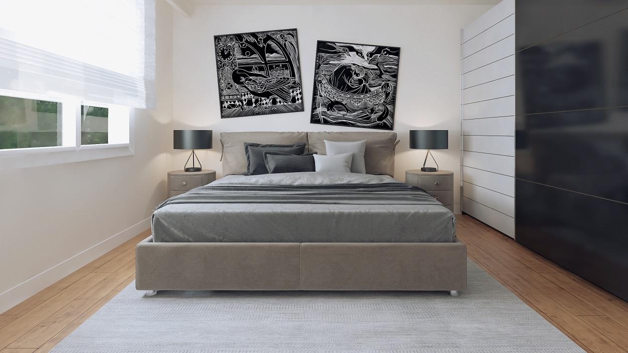 Schlafzimmer Rendering I