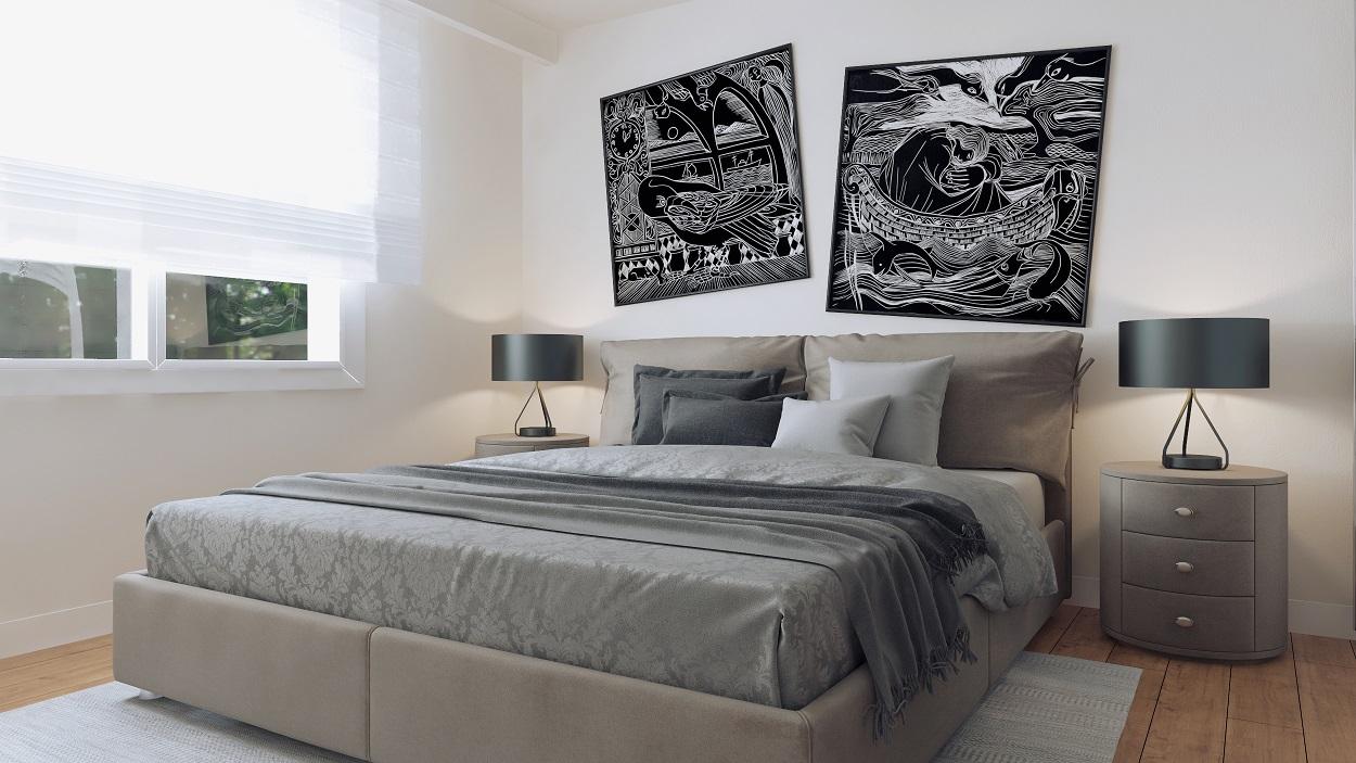 Schlafzimmer Rendering II