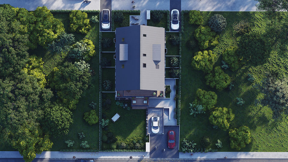 Vogelperspektive Starnberg