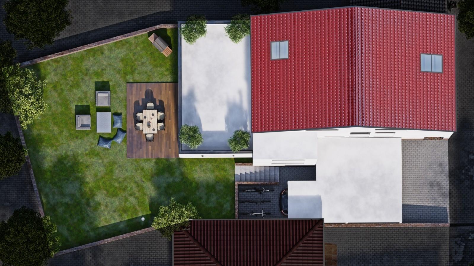 Vogelperspektive UBZ Immobilien