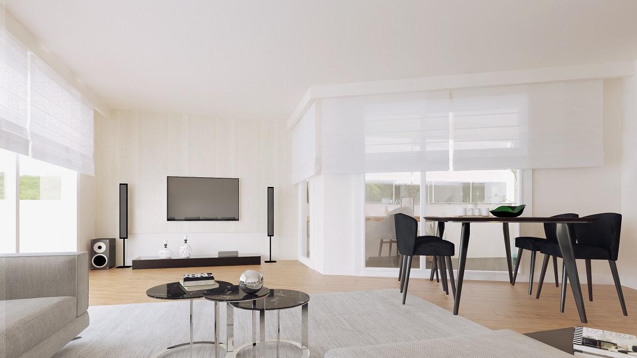 Wohnzimmer EG 3D