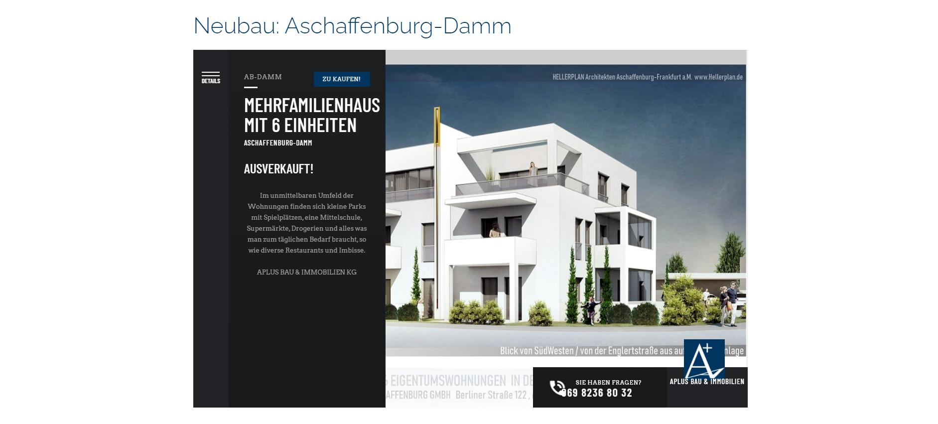 Neubau Präsentation Aschaffenburg