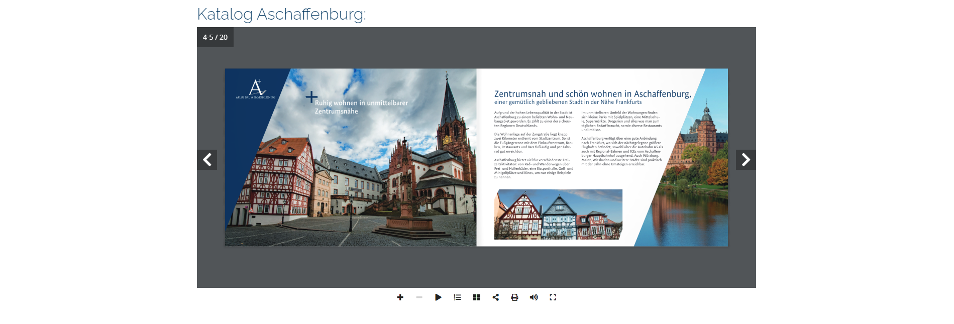 Virtuelle Neubau Broschüre