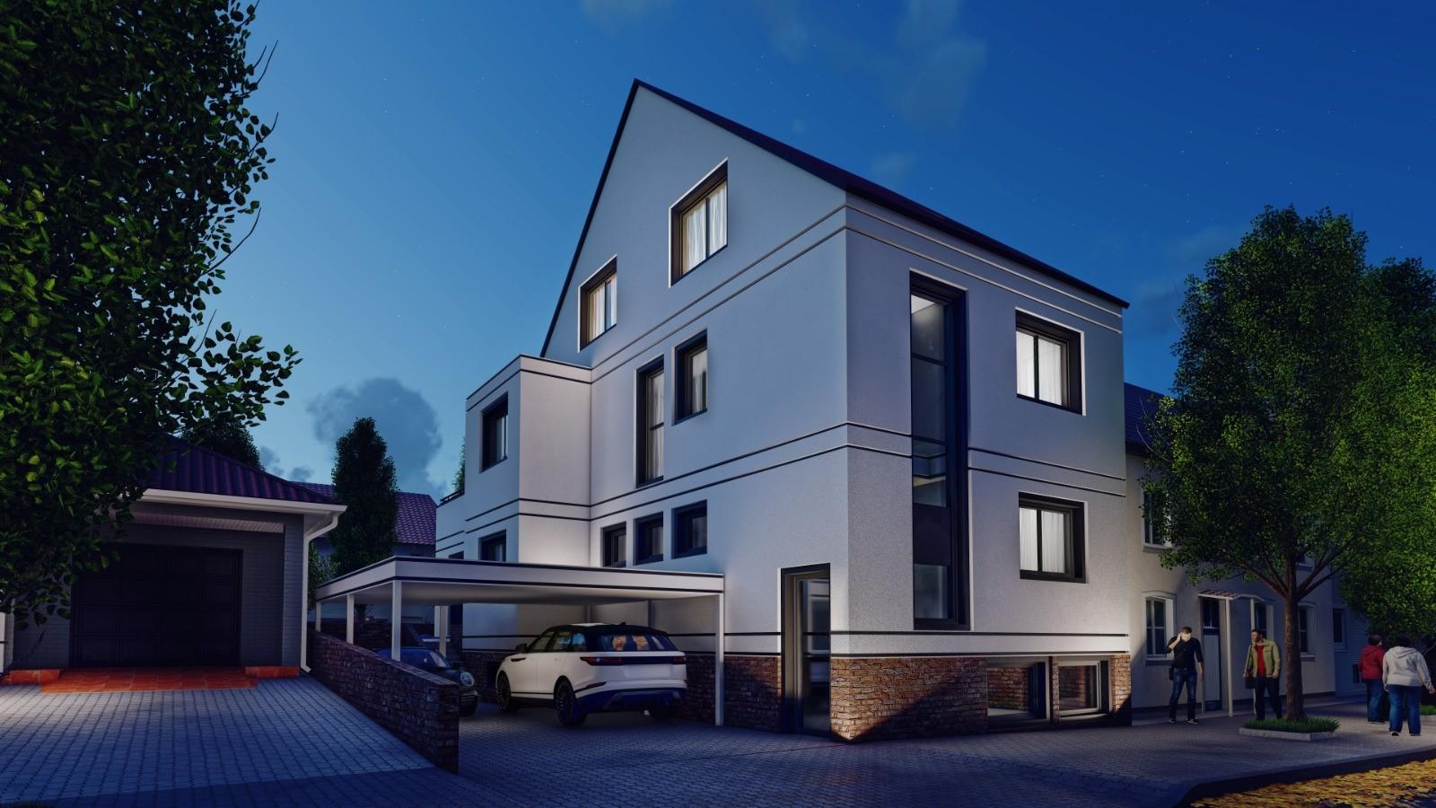 Visualisierung Neubau Aschaffenburg