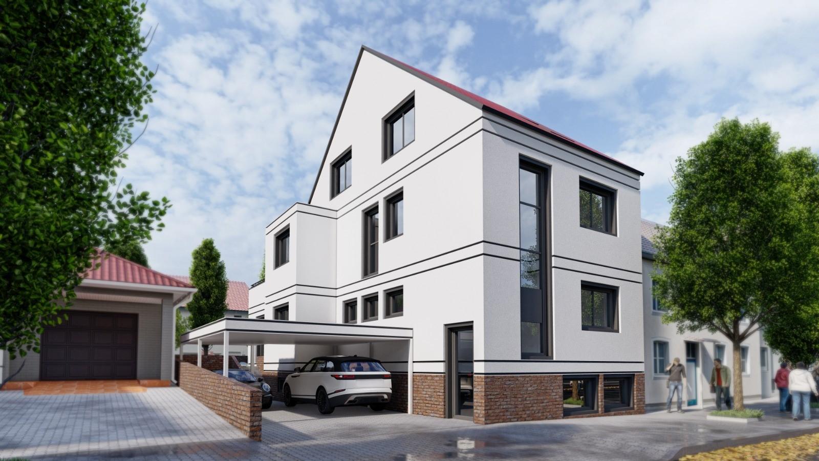Neubau Visualisierung Aschaffenburg
