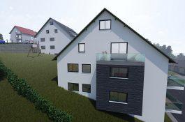 Aussenvisualisierung Neubau