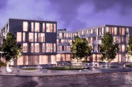 Visualisierung Neubau in Potsdam