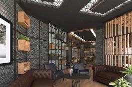 Cafe in 3D