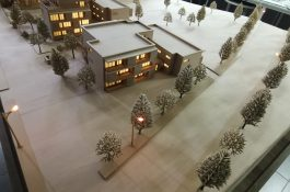 Holzmodell Architektur