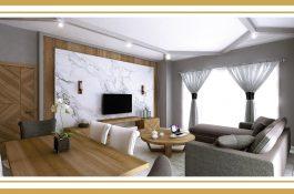 Wohnzimmer in 3D